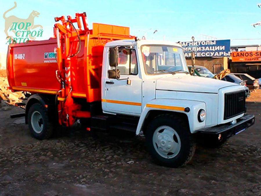 Мусоровоз КО-440-2 на шасси ГАЗ-3309