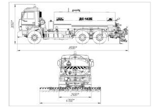 автогудронатор ДС-142 Б
