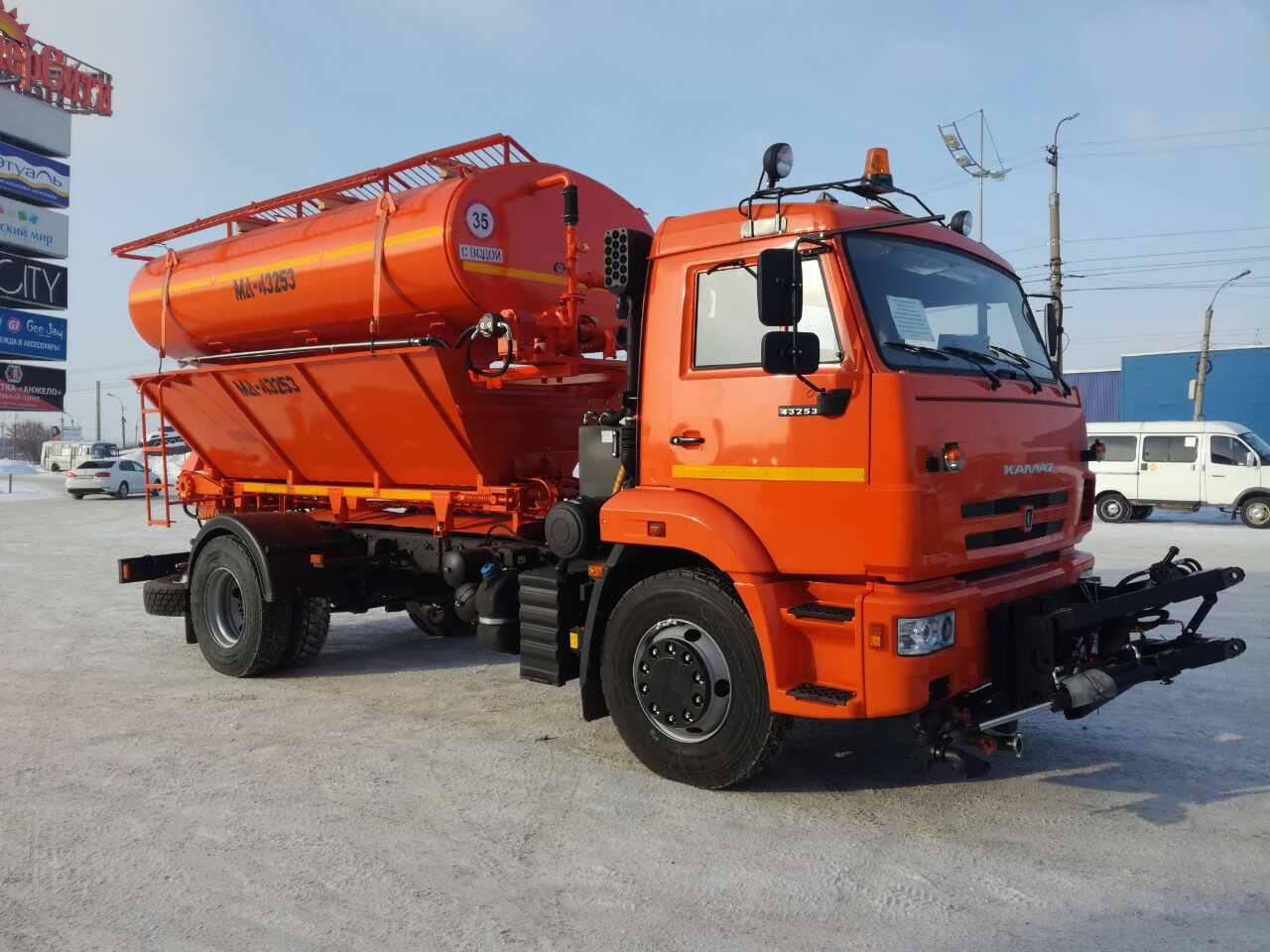 Коммунально-дорожная машина МД-43253