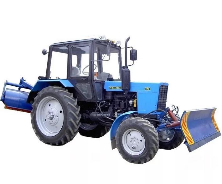 коммунальный трактор мтз