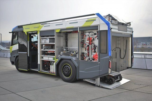 Модули машины пожаротушения