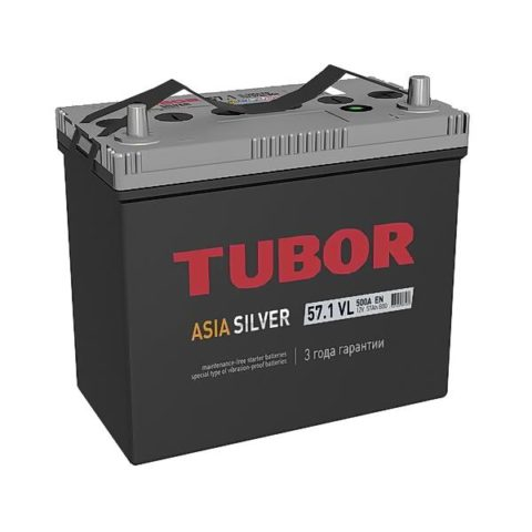 TUBOR ASIA SILVER 6СТ 57.1 VL B00