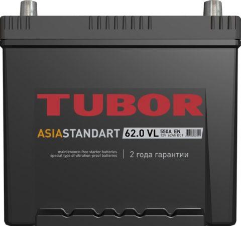 TUBOR ASIA STANDART 6СТ 62.0 VL B01