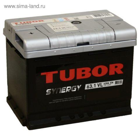 TUBOR SYNERGY 6СТ 63.1 VL