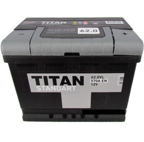TITAN STANDART 6СТ 62.0 VL