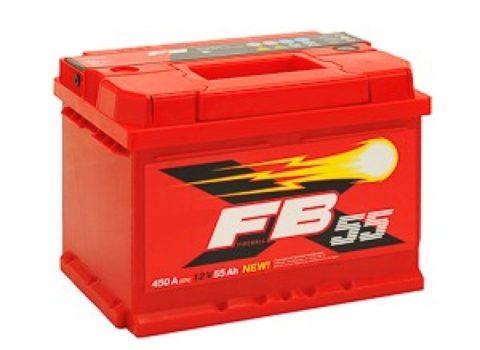 FB 6СТ 55 А/ч (0) (LBR) низкий