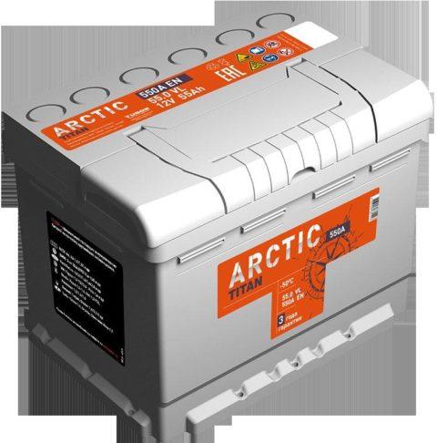 TITAN ARCTIC silver 6СТ 55.0 VL
