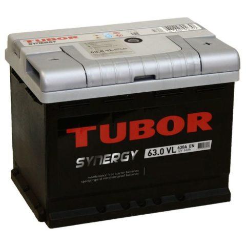 TUBOR SYNERGY 6СТ 63.0 VL