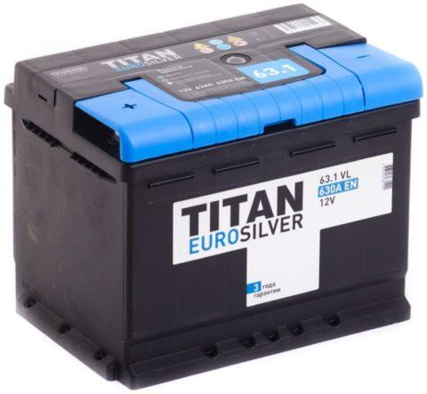 TITAN EUROSILVER 6СТ 63.1 VL
