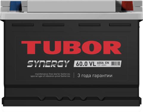 TUBOR SYNERGY 6СТ 60.0 VL (низкая)
