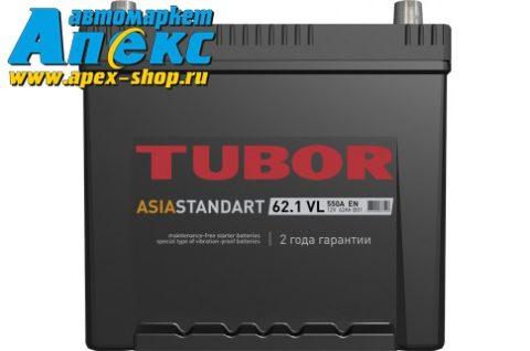 TUBOR ASIA STANDART 6СТ 62.1 VL B01