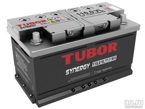TUBOR SYNERGY 6СТ 110.0 VL