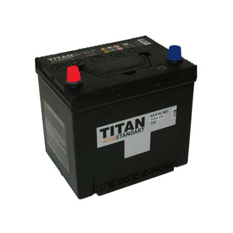 TITAN ASIA STANDART 6СТ 62.0 VL B01