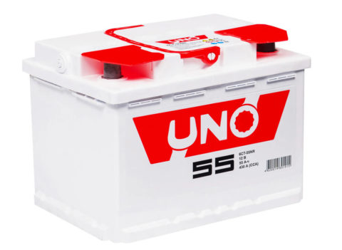 Uno 6СТ 55N