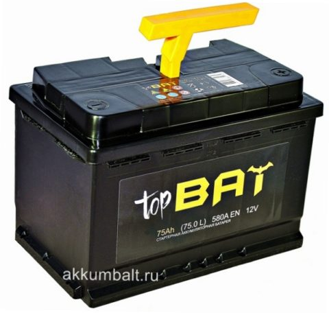 BAT 6СТ 75.0 L