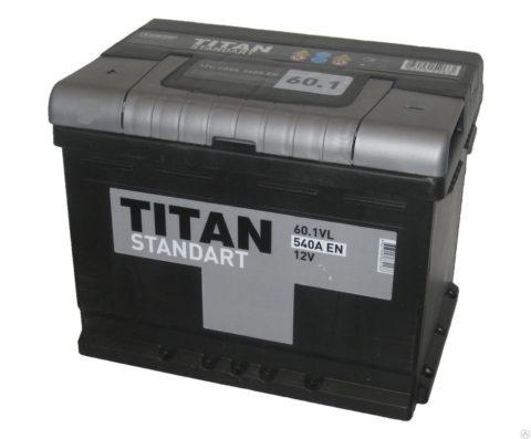 TITAN STANDART 6СТ 60.1 VL