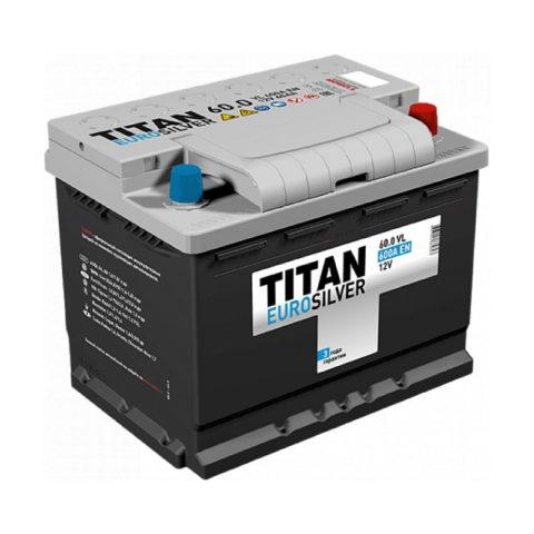 TITAN EUROSILVER 6СТ 60.0 VL (низк)