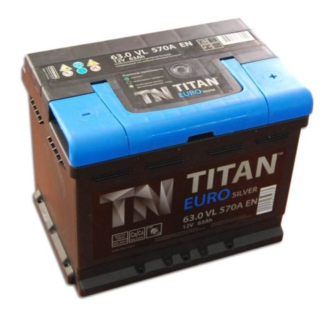 TITAN EUROSILVER 6СТ 63.0 VL kamina