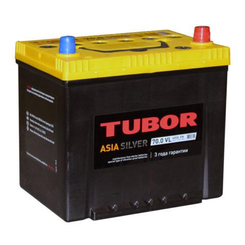 TUBOR ASIA SILVER 6СТ 70.0 VL B01