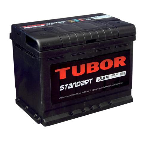 TUBOR STANDART 6СТ 55.0 VL