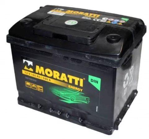 MORATTI energy 65Ah 75D23L