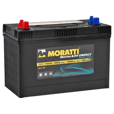 Moratti Marine & RV Energy100Ah MC31MF