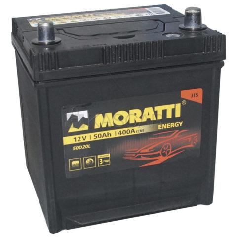 MORATTI energy 50Ah 50D20L