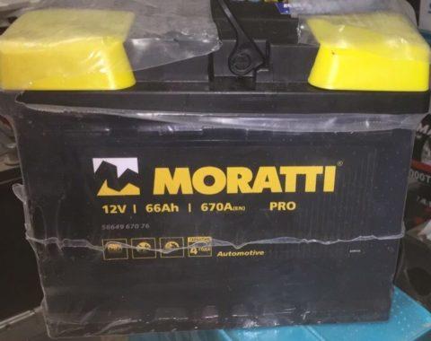 Moratti PRO 66а/ч о.п. (56649 670 76)