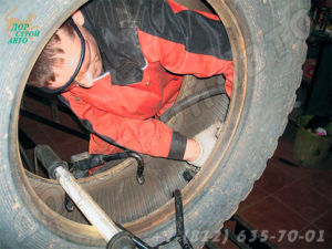 ремонт грузовых шин