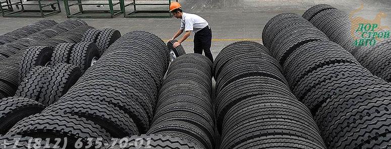 хранение грузовых шин
