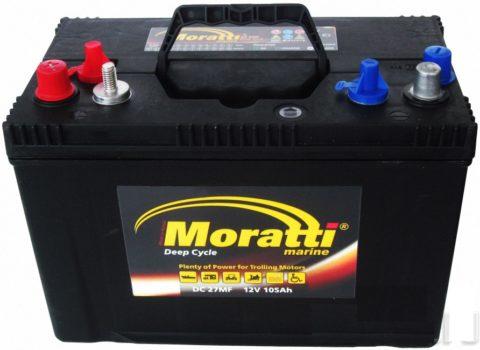 Moratti Marine 105Ah DC27MF