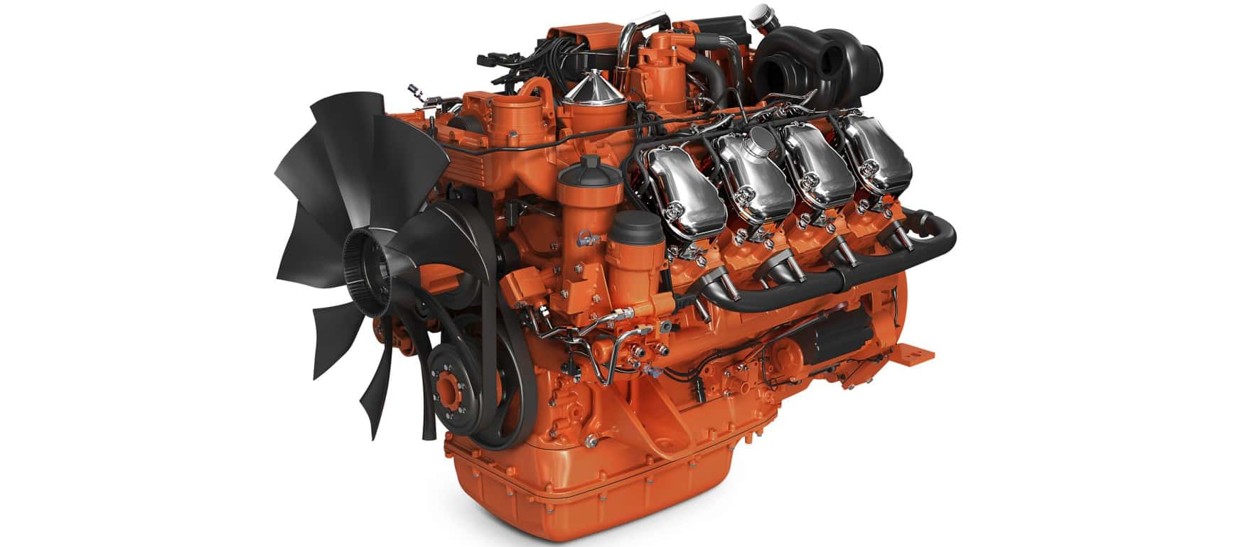 Мотор V8 Scania